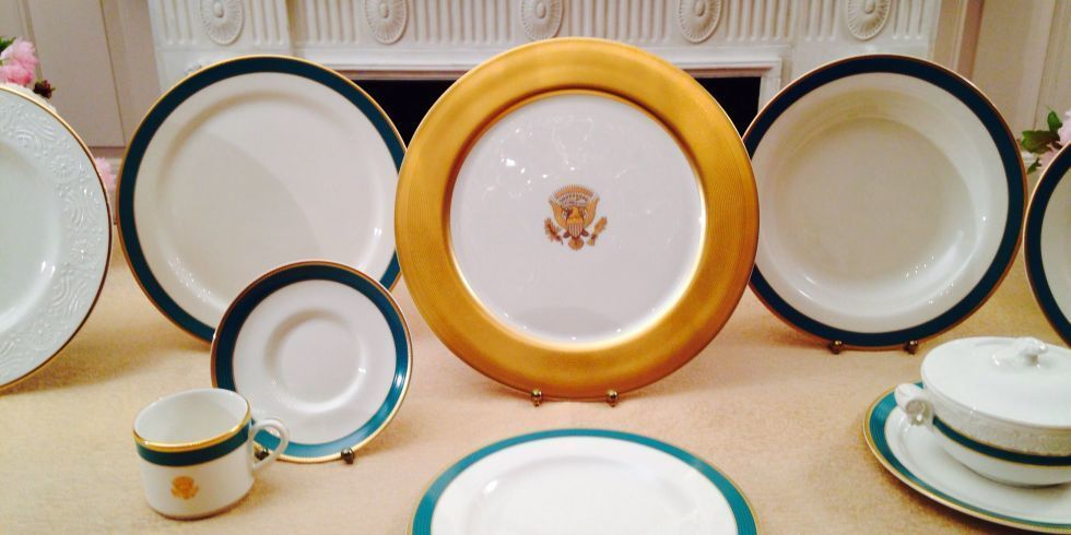 Samantha Toscano & History of White House China Patterns - Obama White House China