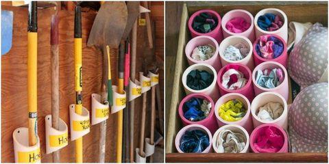 PVC Pipe Organizer