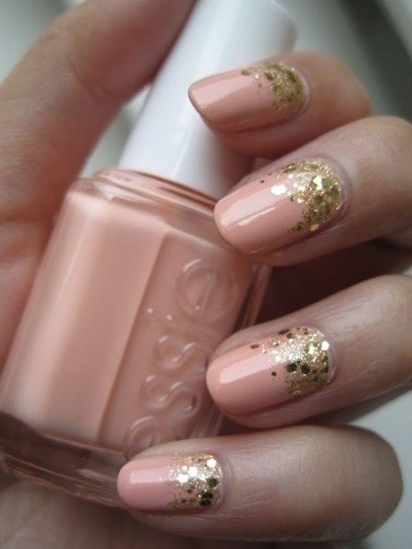 Blush Colored Nail Polish Looks Pale Pink Nail Art Ideas