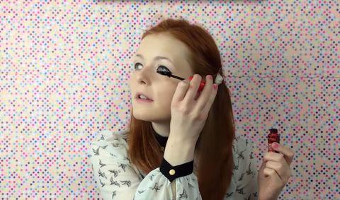 YouTube makeup tutorial