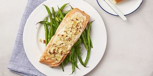 Almond-Crusted Creole Salmon - Valentine's Day Recipes