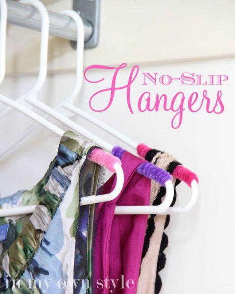 organizing tips - hangers