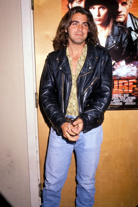 George Clooney Long Hair From 90s Throwback Thursday