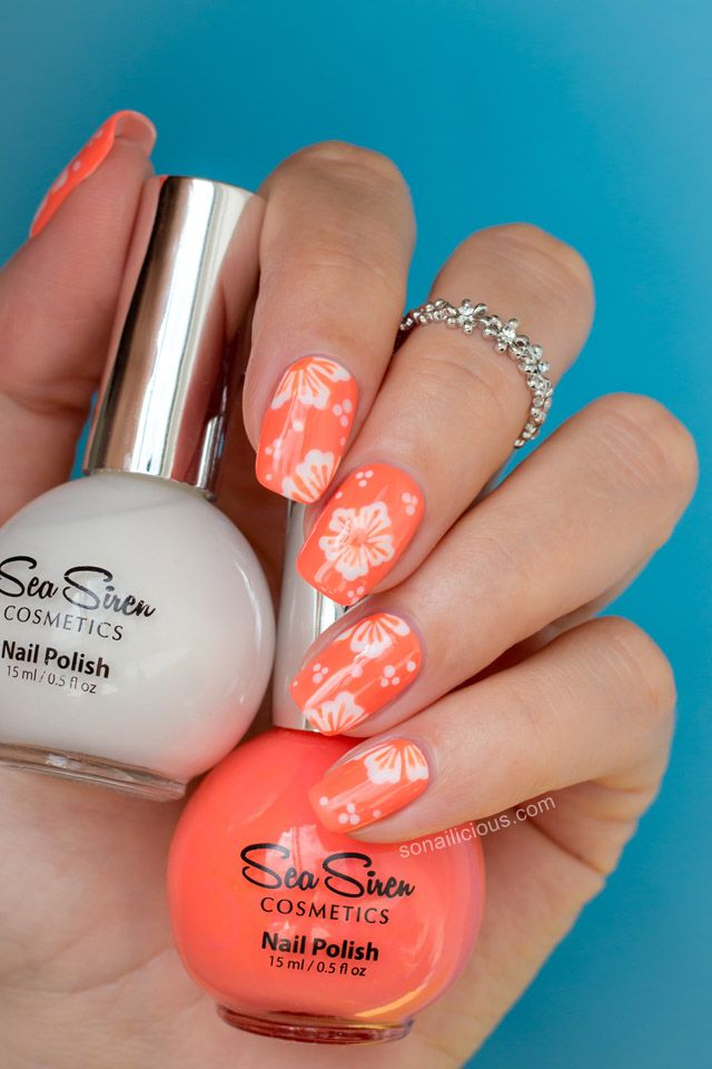 25 Flower Nail Art Design Ideas Easy Fl Manicures For Spring And Summer
