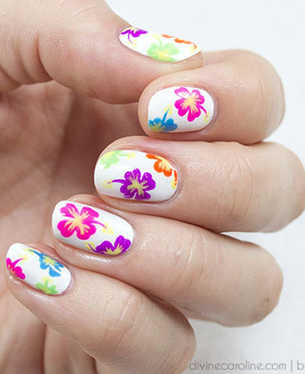 Watch 20 Gorgeous Floral Nail Art Ideas To Bloom video