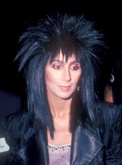 Cher\'s Hair Evolution - Most Famous Cher Hairstyles