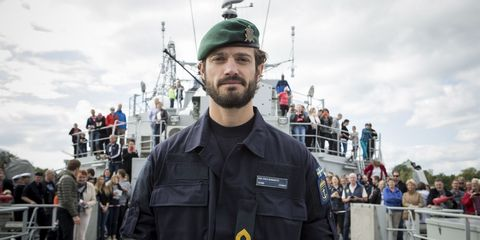 Prince Carl Philip in the Navy