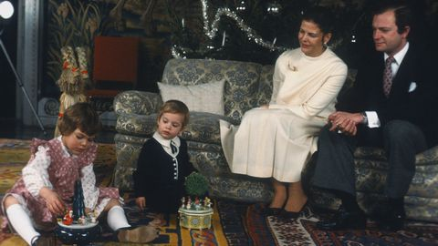 Swedish royal family 1981