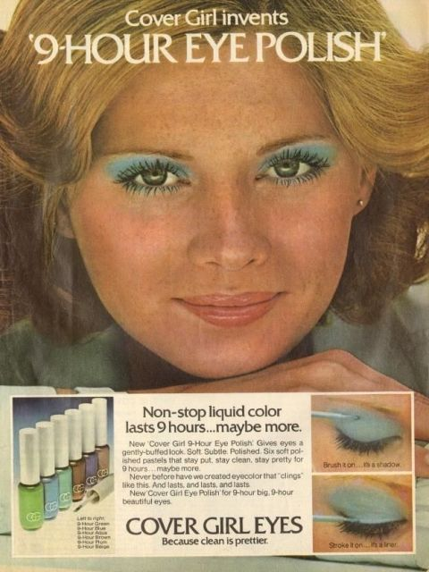 image. CoverGirl. Pastel Eyeshadow: THEN