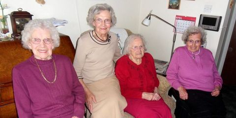 World's Oldest Sisters