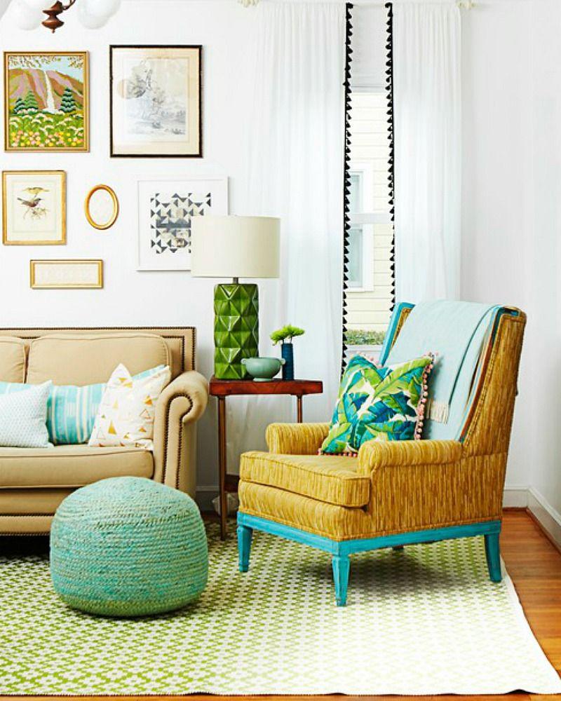 Pom Pom Curtains   DIY Home Decor