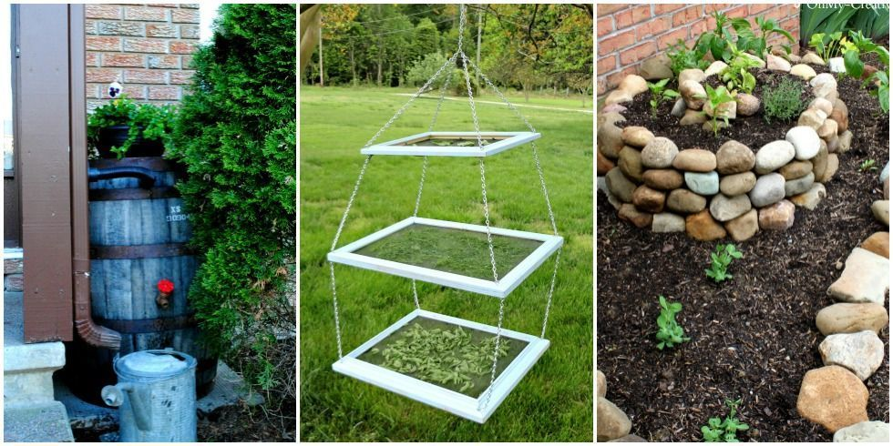 DIY Garden Projects - Functional Gardening DIY Ideas