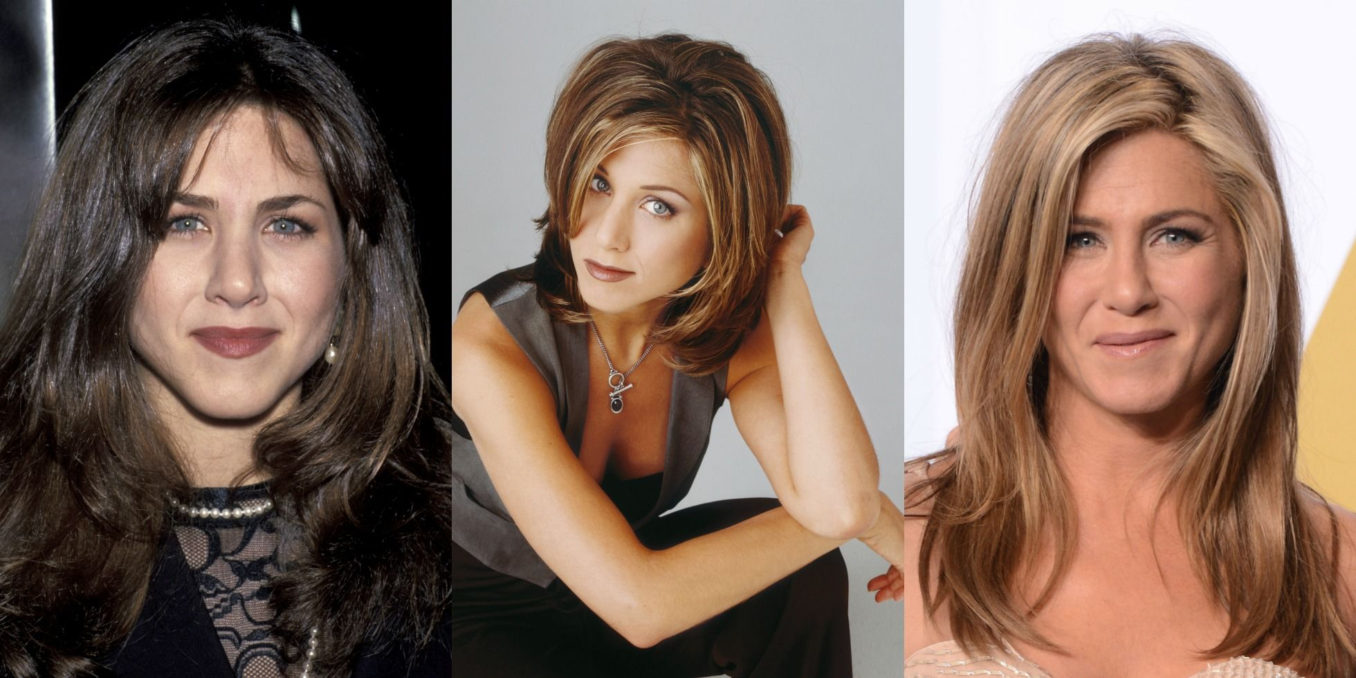 Jennifer Aniston Hair Evolution Timeline Of Jen Aniston S Hairstyles