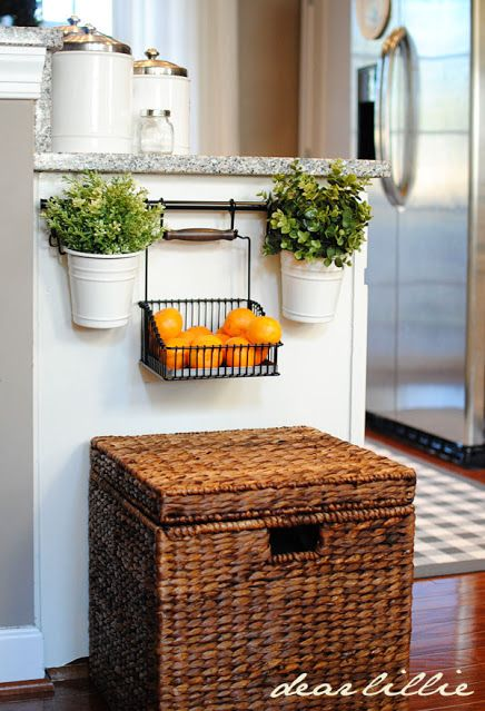 Fruit basket Towel Bar