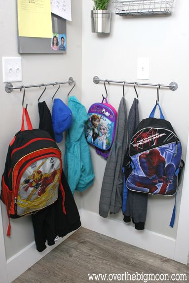 Backpack Towel Bar