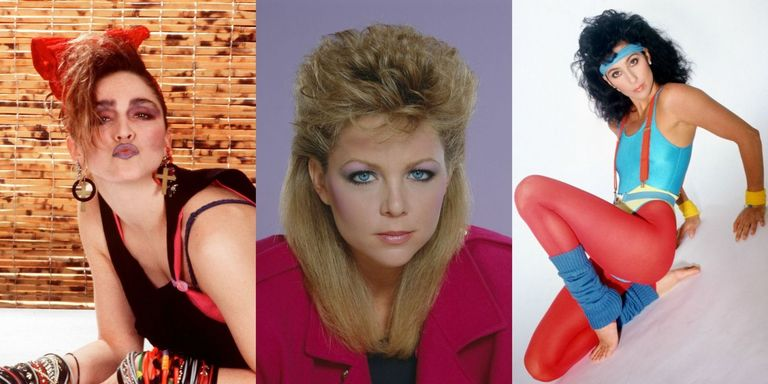 Bad 80s Beauty Trends Embarrassing Eighties Hairstyles