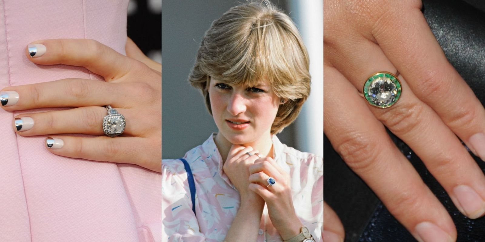 15 Biggest Celebrity Engagement Rings Most Famous Wedding Rings in
