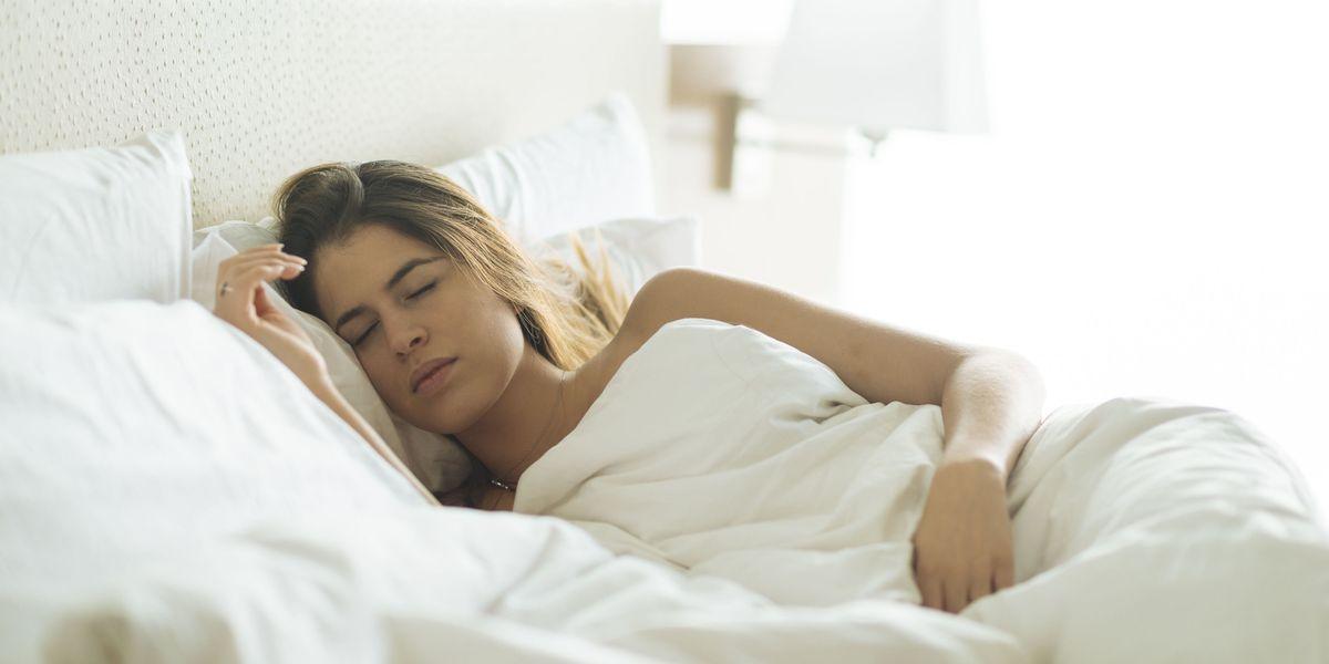 Sleeping Girl Naked