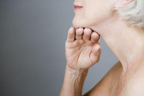 Finger, Cheek, Skin, Joint, People in nature, Nail, Wrist, Interaction, Organ, Gesture,