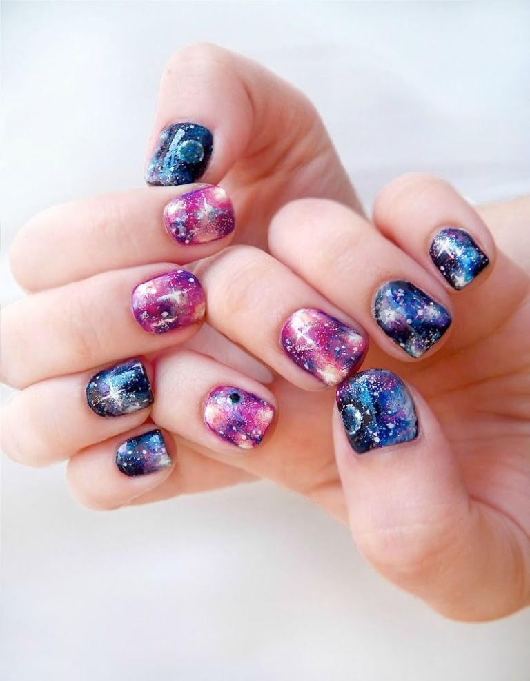 Nail Art Ideas for Short Nails , Manicures Designs for