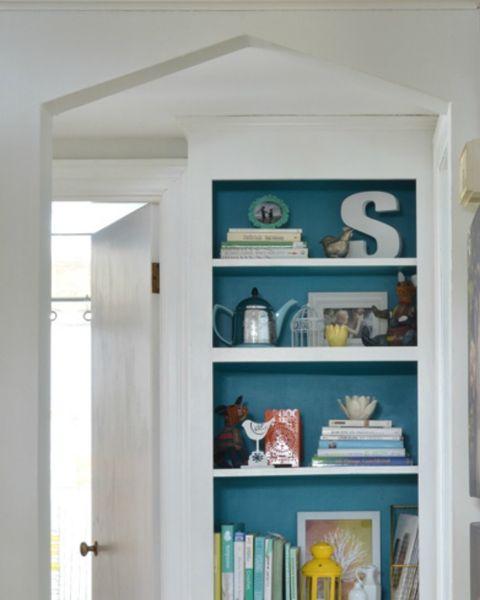 Colorful Backdrop Shelf