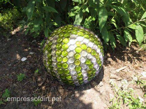 Marble Garden Globe