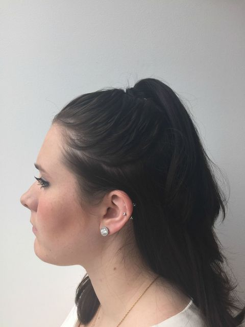 Double Ponytail Trick How To Make Your Hair Look Longer