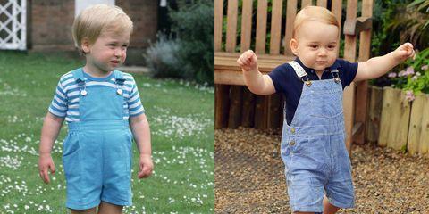 Prince William and Prince George Photos