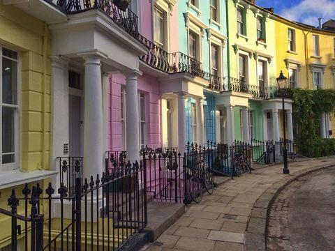 Primrose Hill townhouses London