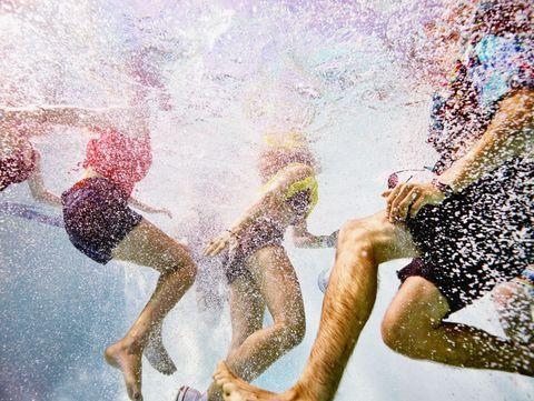 Pool Illness Outbreak - Poop in Pool Water