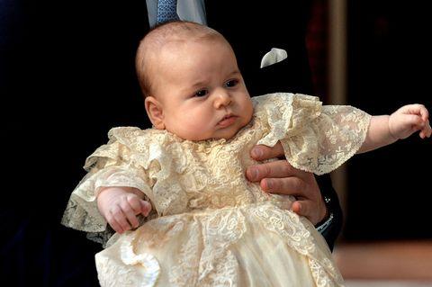 george christening