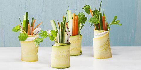 Summer Party Veggie Rolls