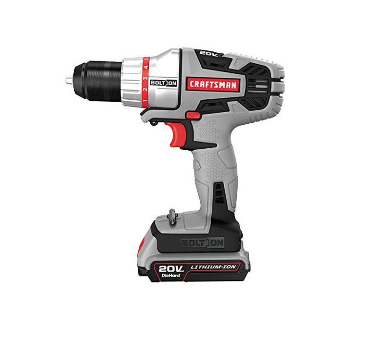 craftsman bolt on 20v max lithium ion drill driver review rh goodhousekeeping com Owner S Manual Craftsman 917 Craftsman Instruction Manual