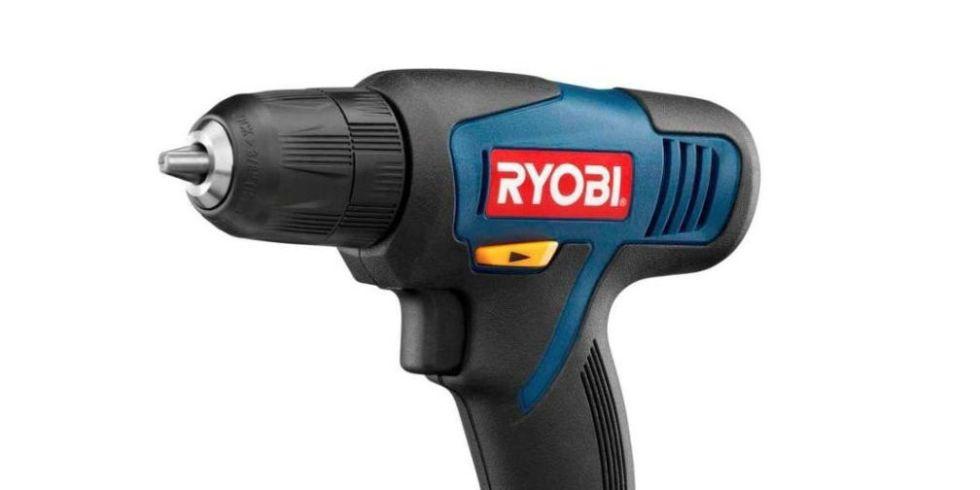 "RYOBI Cordless 3//8/"" Drill//Driver Kit 12-V Lithium-Ion W// 12-V Battery Charger"