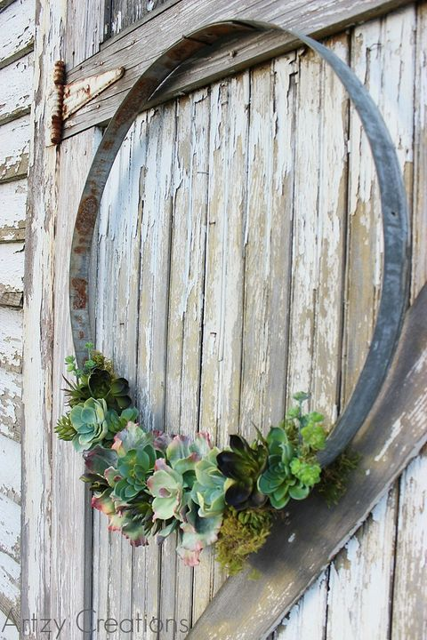 Wine Barrel Wreath