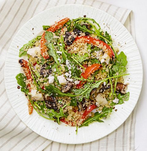 grilled veggie couscous salad