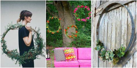 Oversized Wreath DIYs