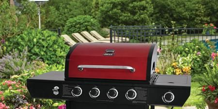 Char Broil Tru Infrared Commercial 4 Burner Gas Grill T