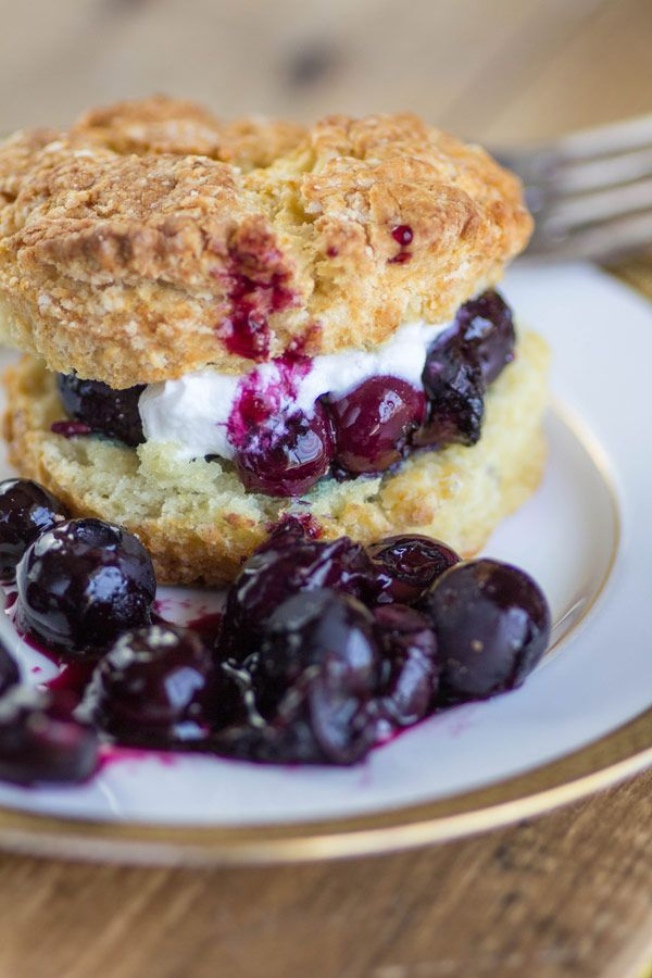 "<p>When you want to make something fancy, just add pinch of lavender. Oh, and this one's wheat-free for all the gluten intolerant folks out there. </p><p><a target=""_blank"" href=""http://beardandbonnet.com/blueberry-lavender-shortcakes/""><em>Get the recipe from Beard and Bonnet »</em></a> </p>"