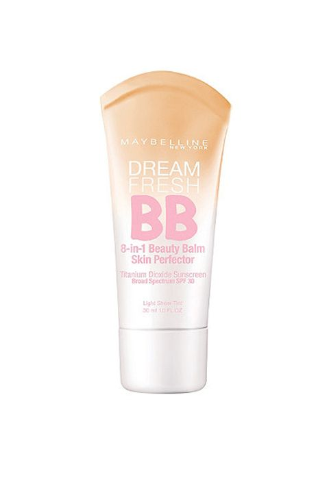 """<p>BB creams with SPF are designed to help even out skin tone, soften, highlight <em>and</em> protect skin—literally one step to looking refreshed and ready to go. One to try: <a href=""""http://www.goodhousekeeping.com/beauty-products/bb-cream-reviews/a29636/maybelline-dream-fresh-bb-cream-spf-30/"""" target=""""_blank"""">Maybelline's Dream Fresh BB Cream with SPF 30</a>. <em>$6.30, </em><a href=""""http://www.amazon.com/dp/B008C131HS/ref=asc_df_B008C131HS3721704?smid=ATVPDKIKX0DER&tag=pricegrabbe05-20&linkCode=df0&creative=395097&creativeASIN=B008C131HS&ascsubtag=1437665019_0b4eb40db55735b80267083b41b2743b_2006_402_1013297193_952"""" target=""""_blank""""><em>Amazon.com</em></a></p>"""