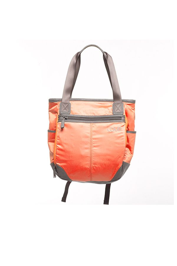 """<p>It's easier to stroll to and from the office unencumbered if your work-appropriate tote bag doubles as a backpack — and especially if it comes with a removable, washable drawstring sack to keep extra shoes separate from your essentials. This Lolë Lily Tote Bag does both. <em>$120, </em><a href=""""http://www.lolewomen.com/law0184.html"""" target=""""_blank""""><em>Lolewomen.com</em></a></p>"""