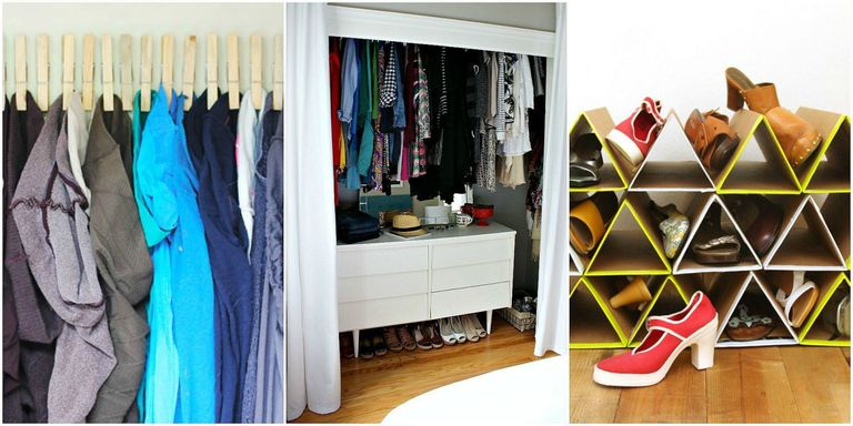 best organization creative clothes ideas hacks tips room for pinterest walk closet on storage organizer diy your master images and