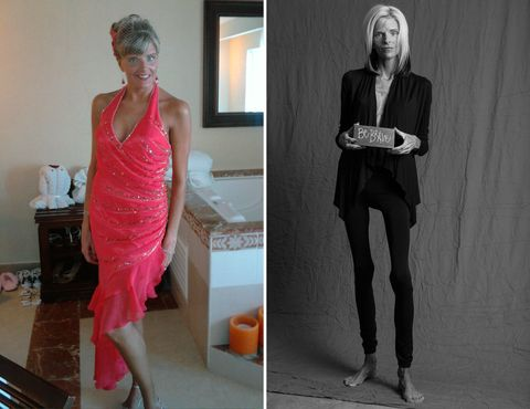 Lisa Brown before 2010 and after 2015