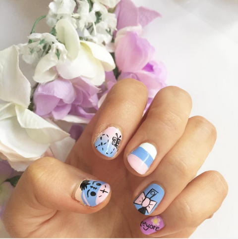 11 Disney Inspired Manicures Even Adults Will Love