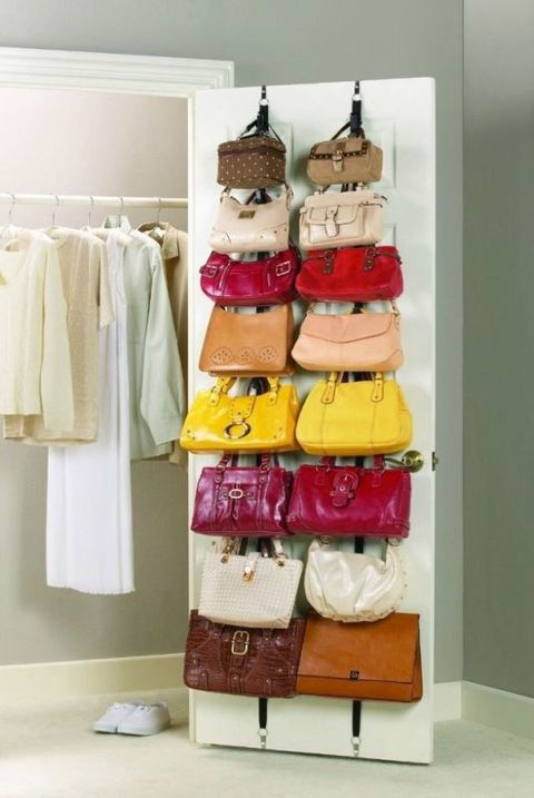 How to organize purses keep handbags organized image solutioingenieria Choice Image