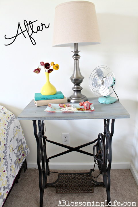 sewing table nightstand