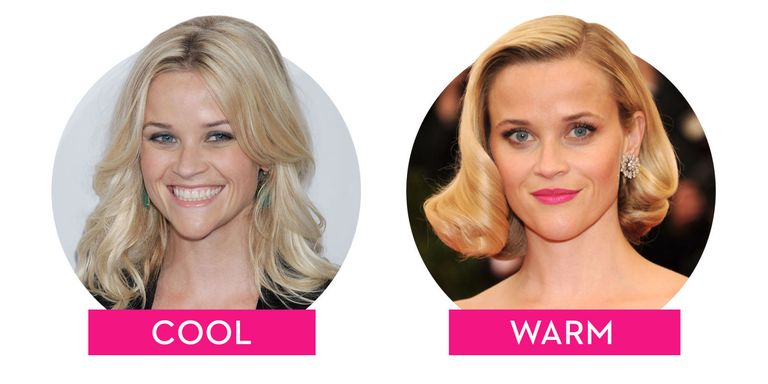 Warm Vs Cool Toned Hair Colors How Hair Undertones