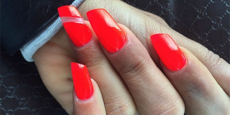 Lipstick Shaped Nails - Lipstick Nail Designs and Photos