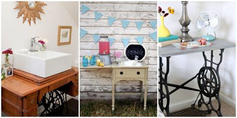 sewing table revamps