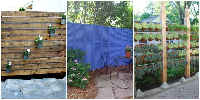 Diy patio privacy screens backyard patio ideas for Balcony privacy solutions